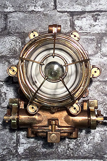 architectural-and-vintage-fittings-Morio-Denki-Copper-Frame-Proof-Wall-Light