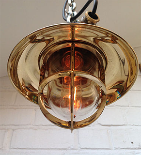 architectural-and-vintage-fittings-Brass Explosion-Proof-Pendant