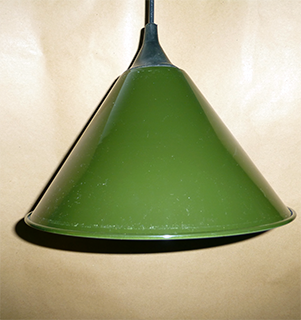 Vintage Green Shade Pendant
