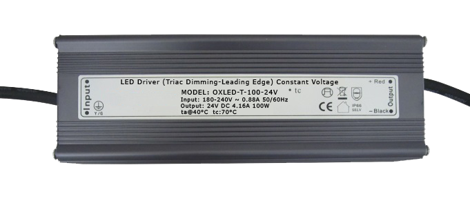 Mains Triac Dimmable LED Driver - OXLED-T-100-24V